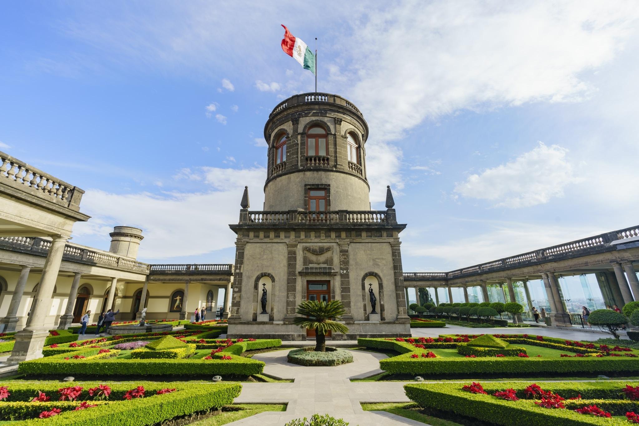 Caballero Alto - torreón del Castillo de Chapultepec