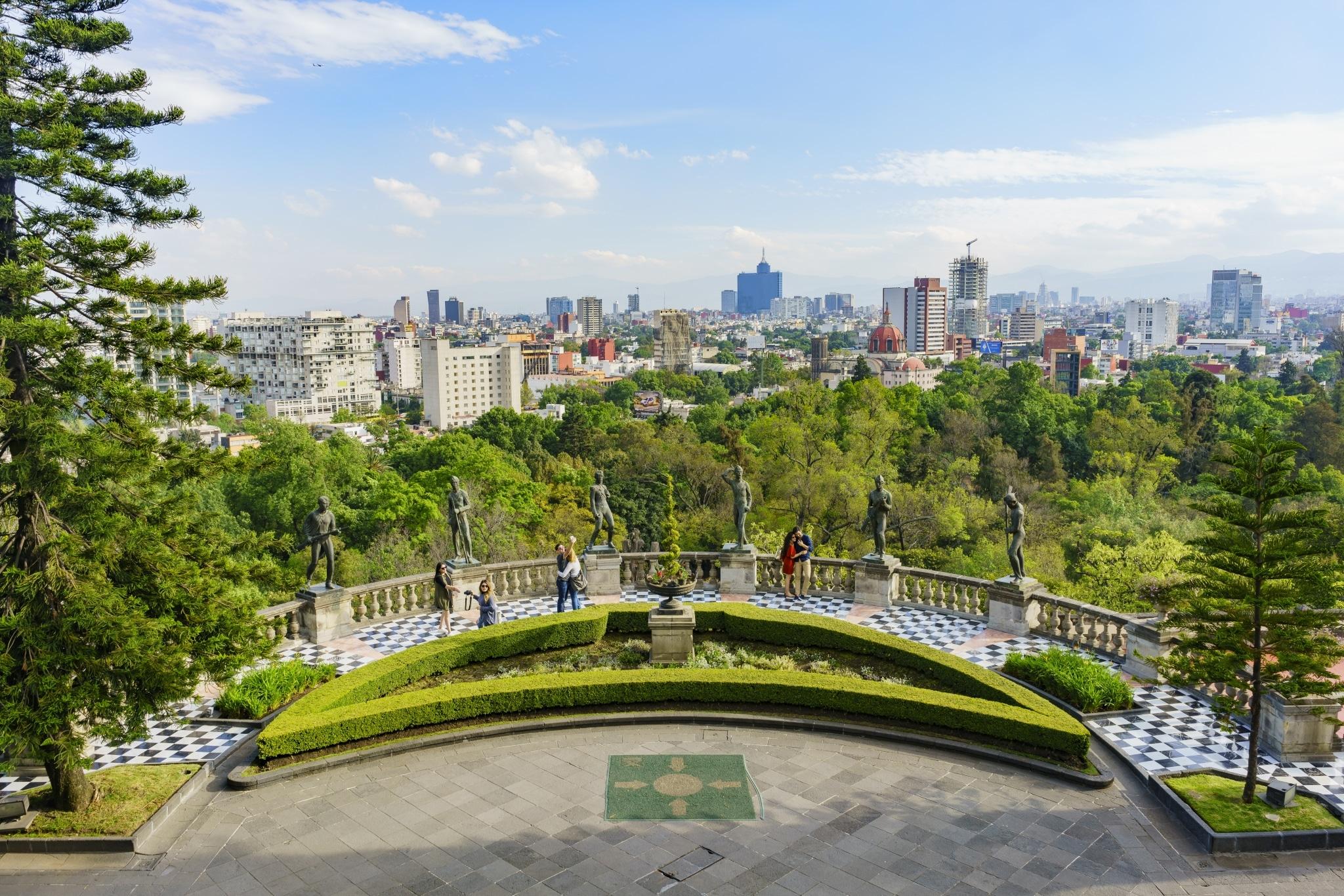 Vista panorámica desde el Castillo de Chapultepec