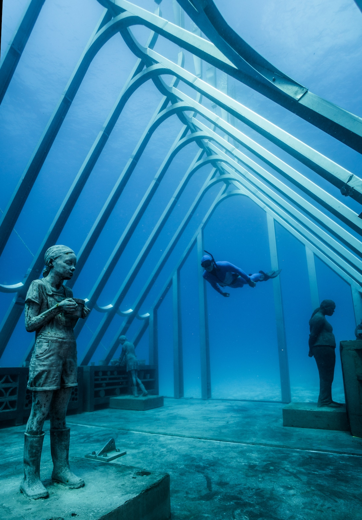 Museum of Underwater Art in Australia