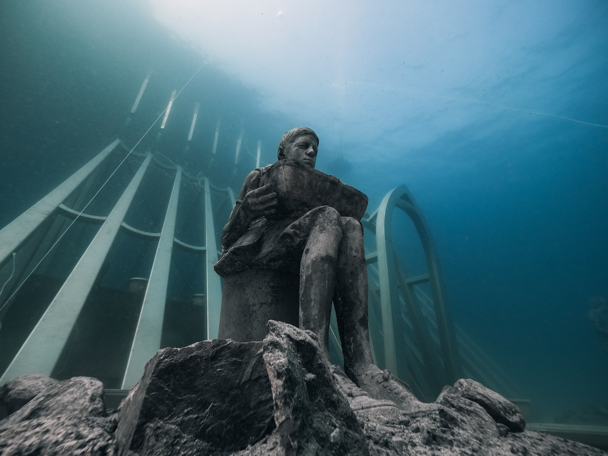 Underwater Sculptures by Jason deCaires Taylor