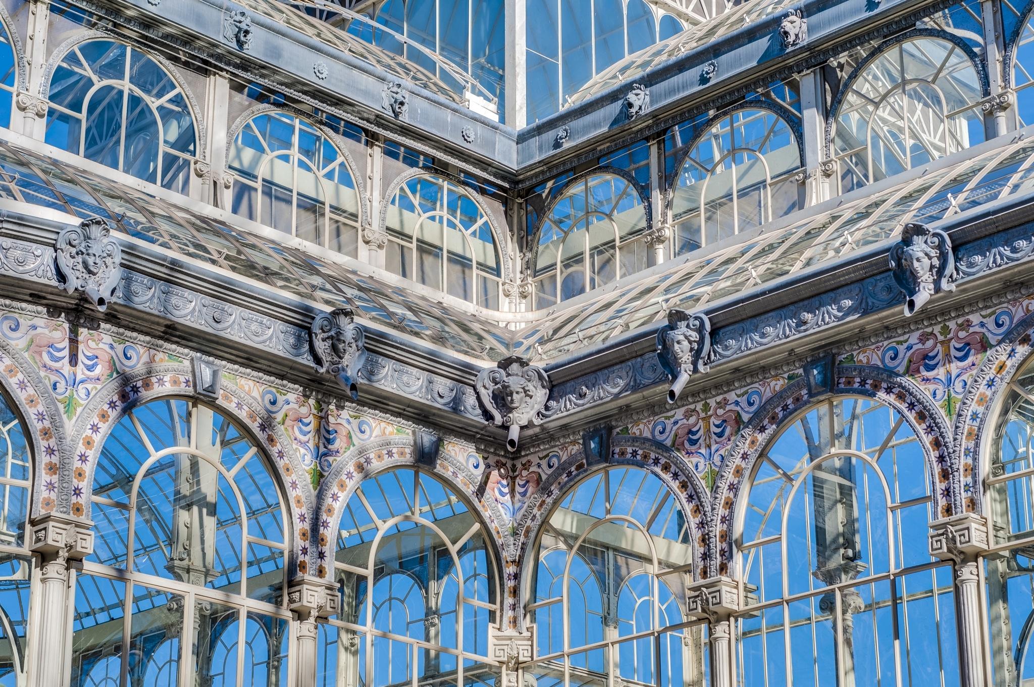 Palacio de Cristal de Madrid por dentro