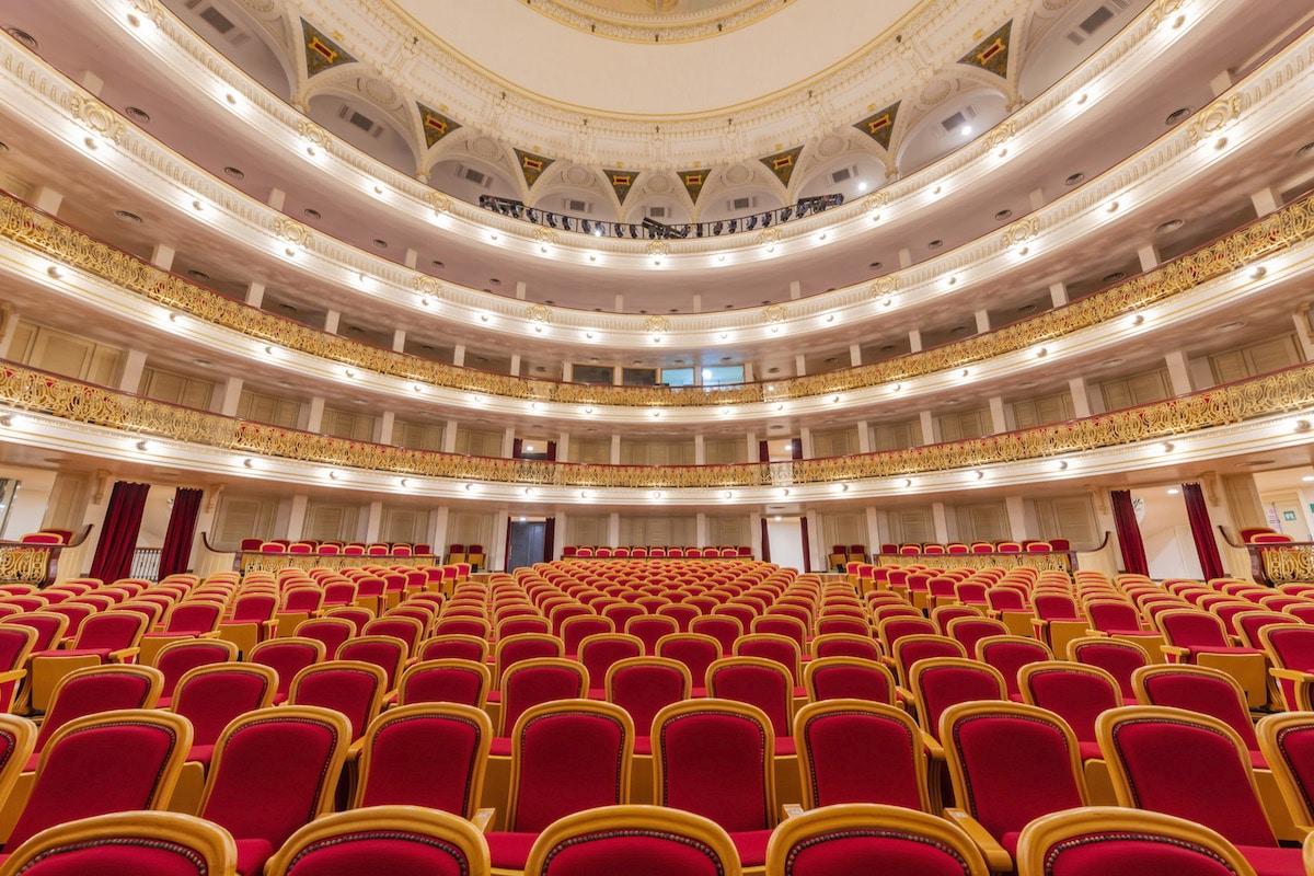 Interior of the Gran Teatro de la Habana, Havana, Cuba