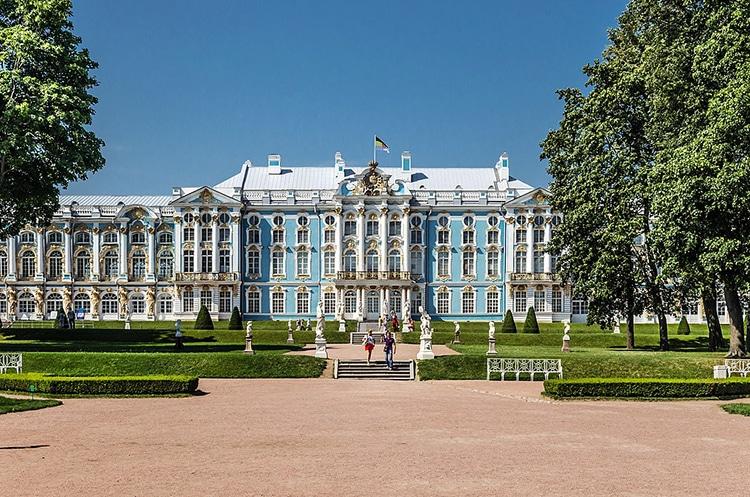 Catherine Palace in Tsarskoe Selo, St. Petersburg