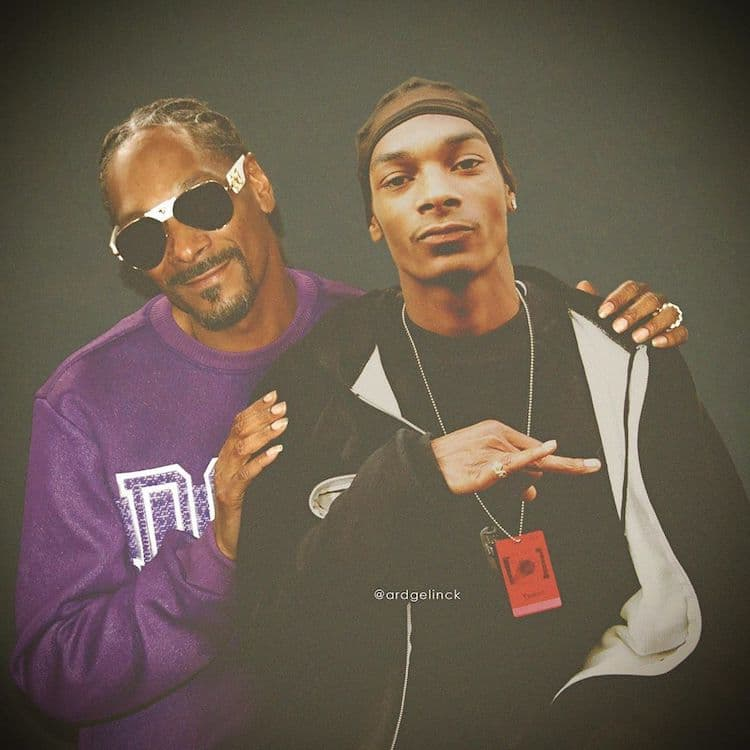 Snoop Dogg antes y después