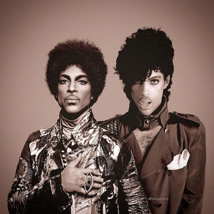 Prince Then and Now