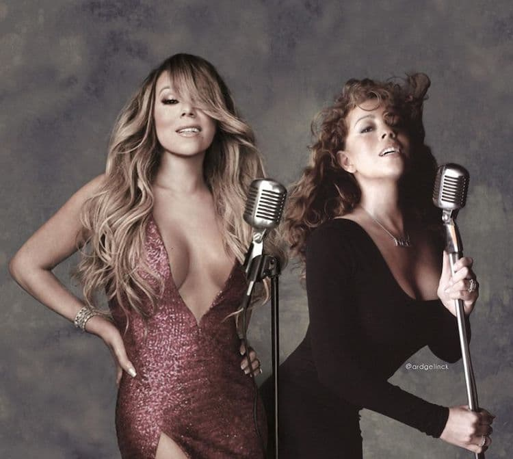 Mariah Carey Then and Now