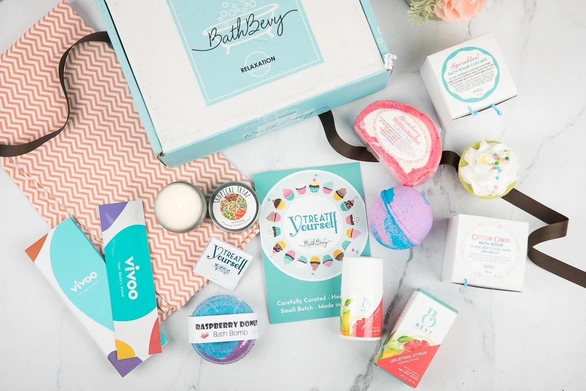 Bath Bevy Spa Subscription Box