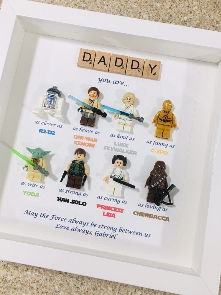 Star Wars Minifig Father's Day Present