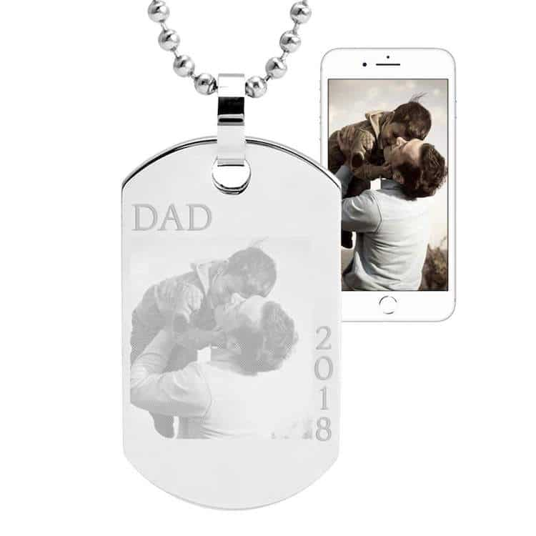 Custom Dog Tag for Father's Day