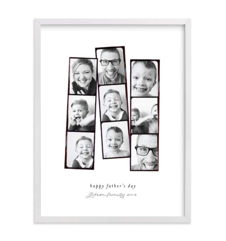 Custom Photo Collage for Father's Day
