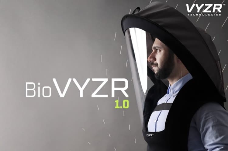 BioVYZR Air Purifying Face Shield by VYZR Technologies