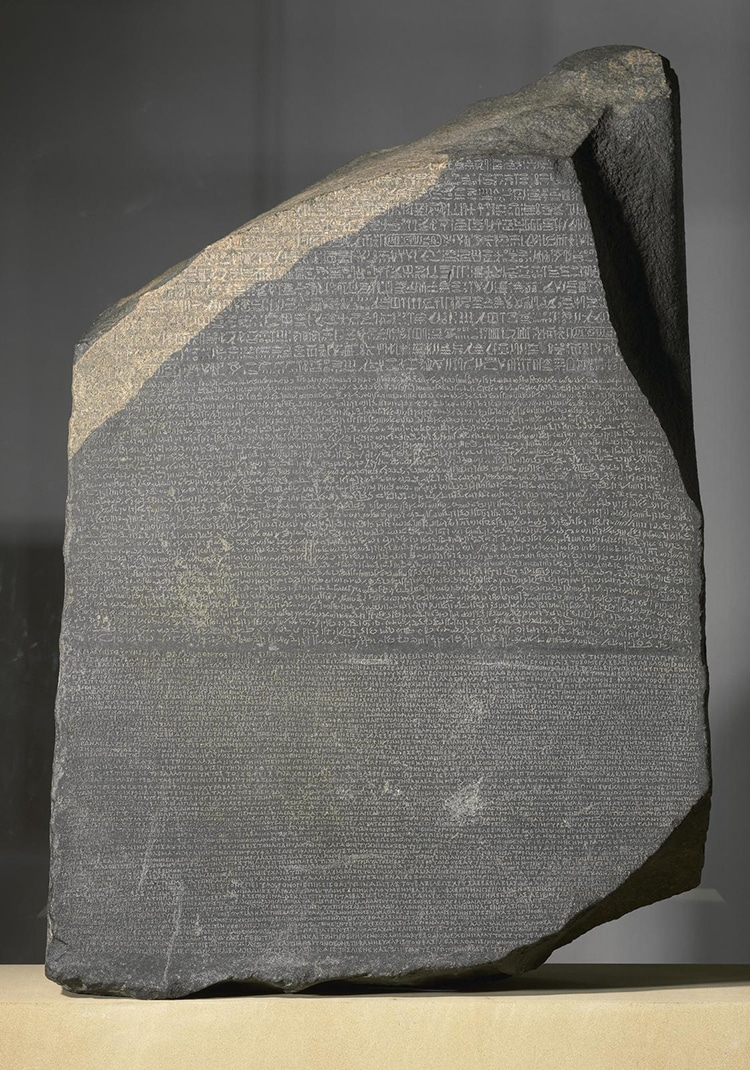 The Rosetta Stone Housed in The British Museum's Collections