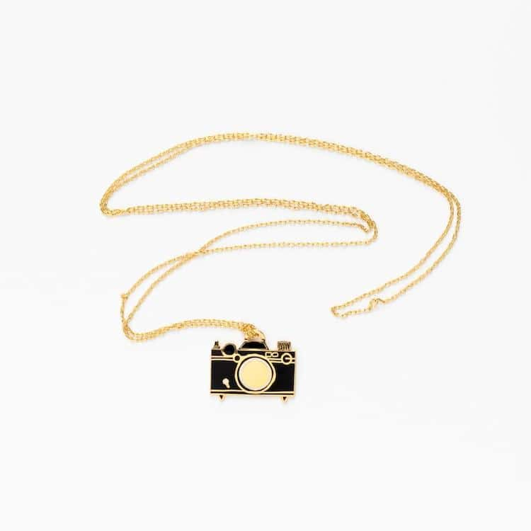 Camera Pendant by Yellow Owl Workshop