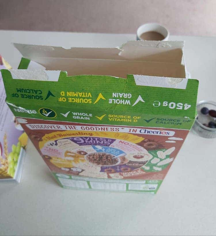 How to Seal a Cereal Box