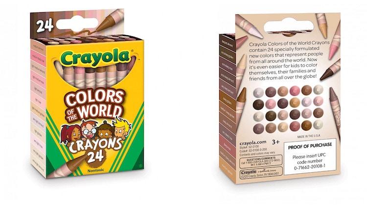 Crayola Colores piel