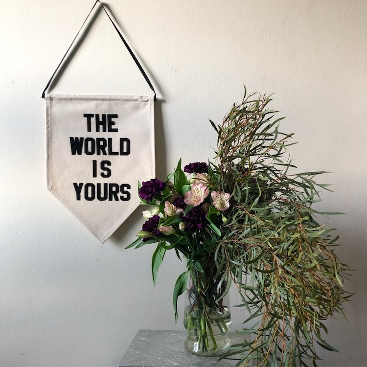 The World Is Yours Banner