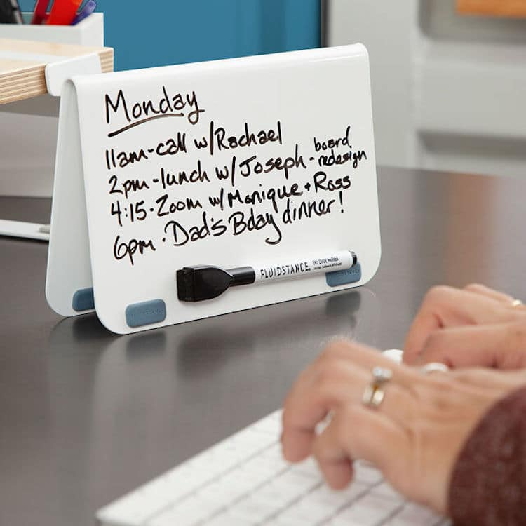 Erasable Note Wedge