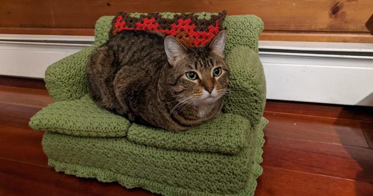 Squishy the Cat Amigurumi - Free Crochet Pattern - StringyDingDing | 630x1200