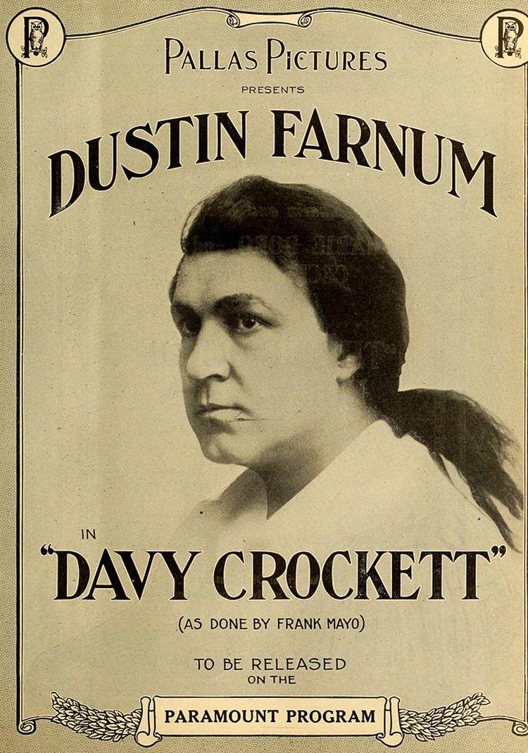 Davy Crockett Film Advertisement