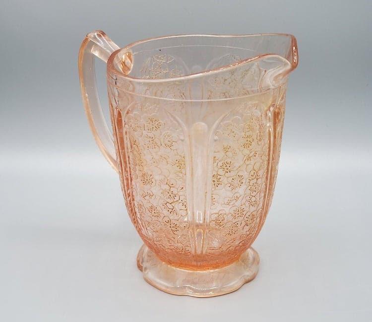 jarra de vidrio e Depression Glass