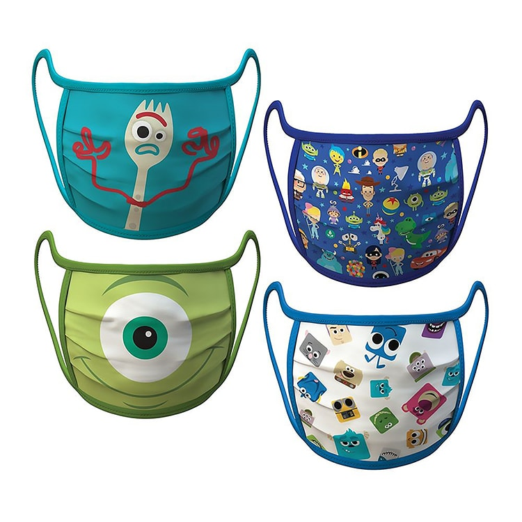Disney's Pixar Face Mask Bundle