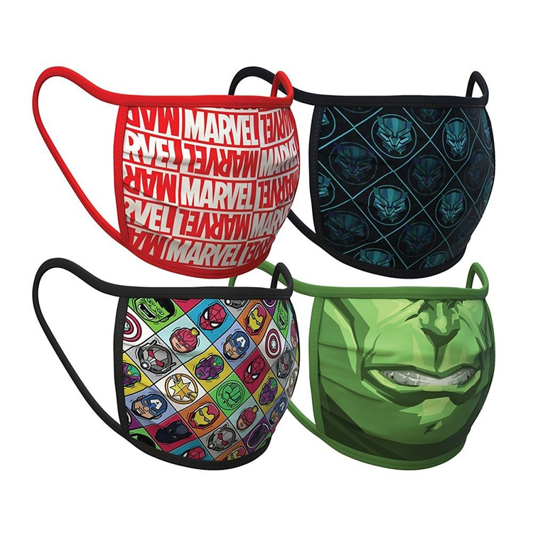 Disney's Marvel Face Mask Bundle