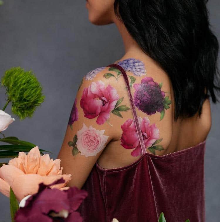 Perennial Temporary Tattoo Set