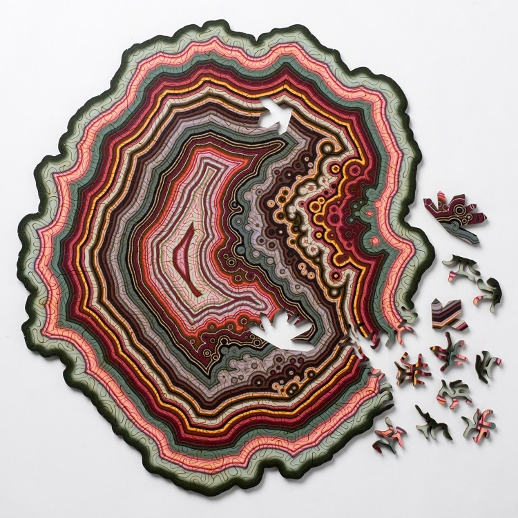 Geode Puzzle by Nervous System