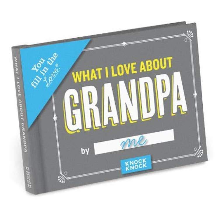 What I Love About Grandpa Book