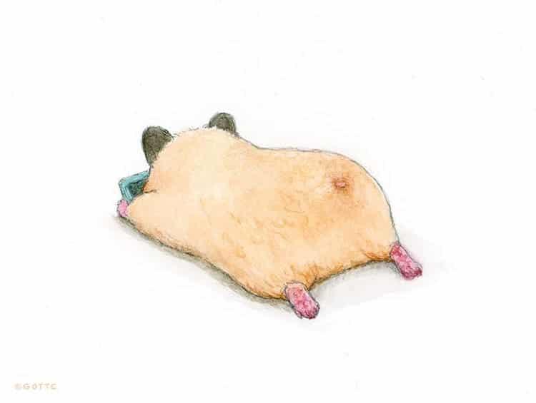 Hamster Illustrations by GOTTE