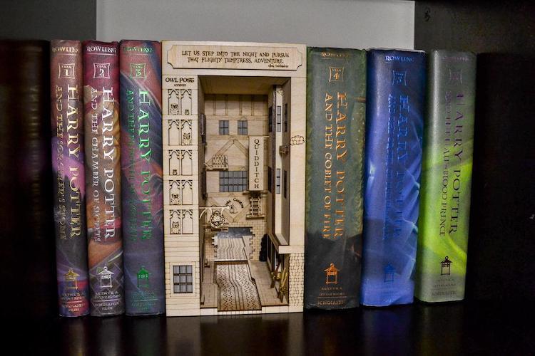 Harry Potter Book Nook