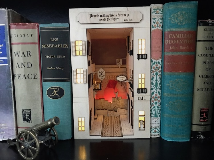 Book Nooks by Hemispheres Co