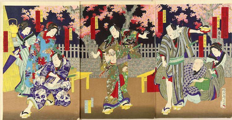 Kabuki Print