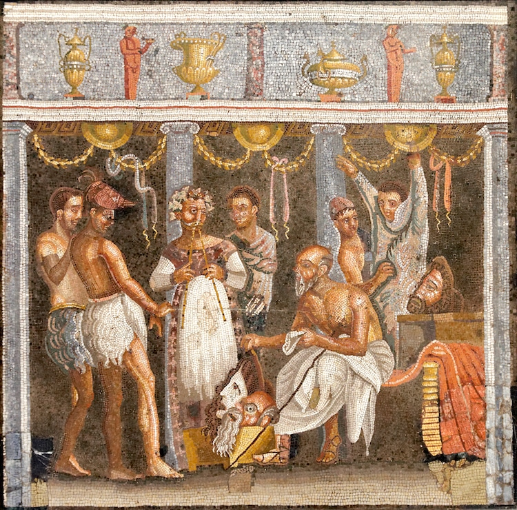 Theater Mosaic
