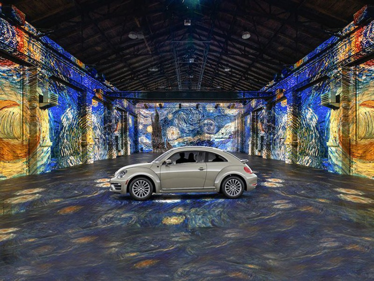 """Gogh in Your Car"" Tour of the Immersive van Gogh Installation Opens in Toronto"
