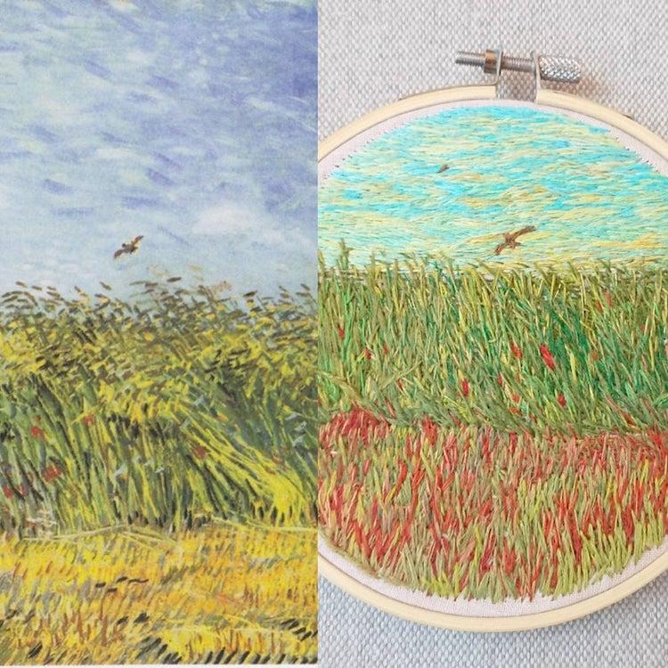 diseños bordados por Ludmila Perevalova