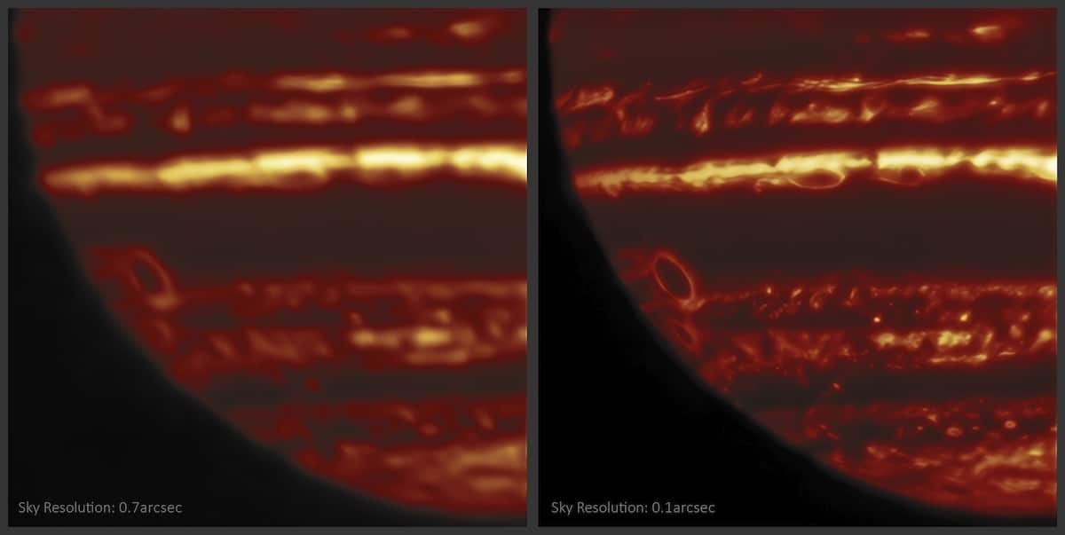 Jupiter Glowing Like a Jack O' Lantern