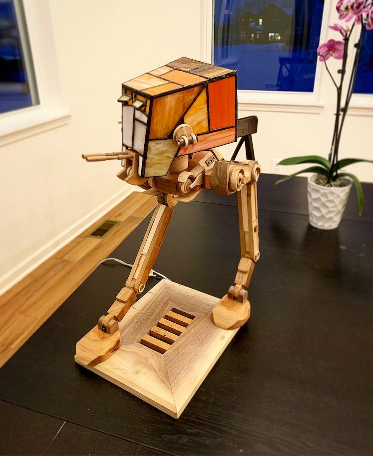 lamparas de Star Wars por Keth Pride