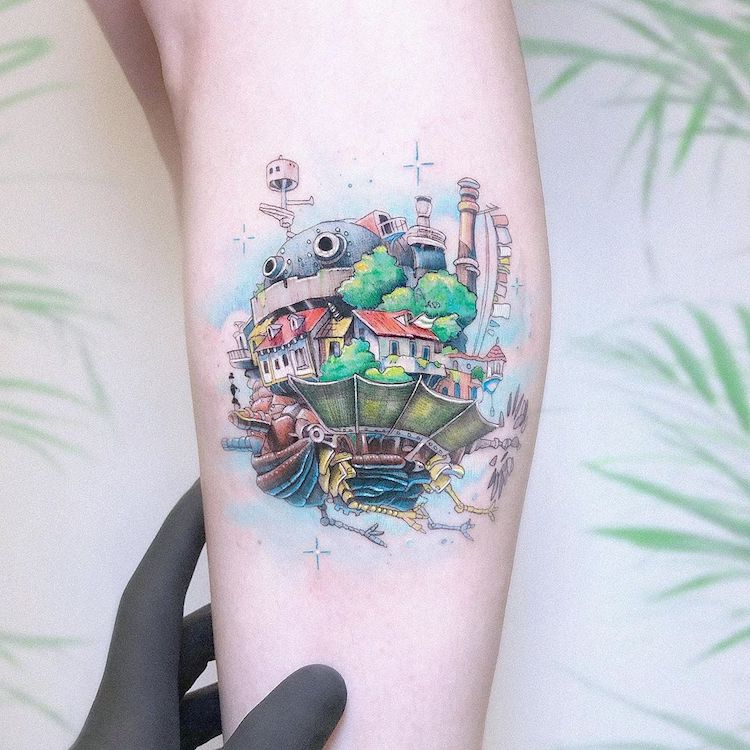 Pop Culture Tattoo