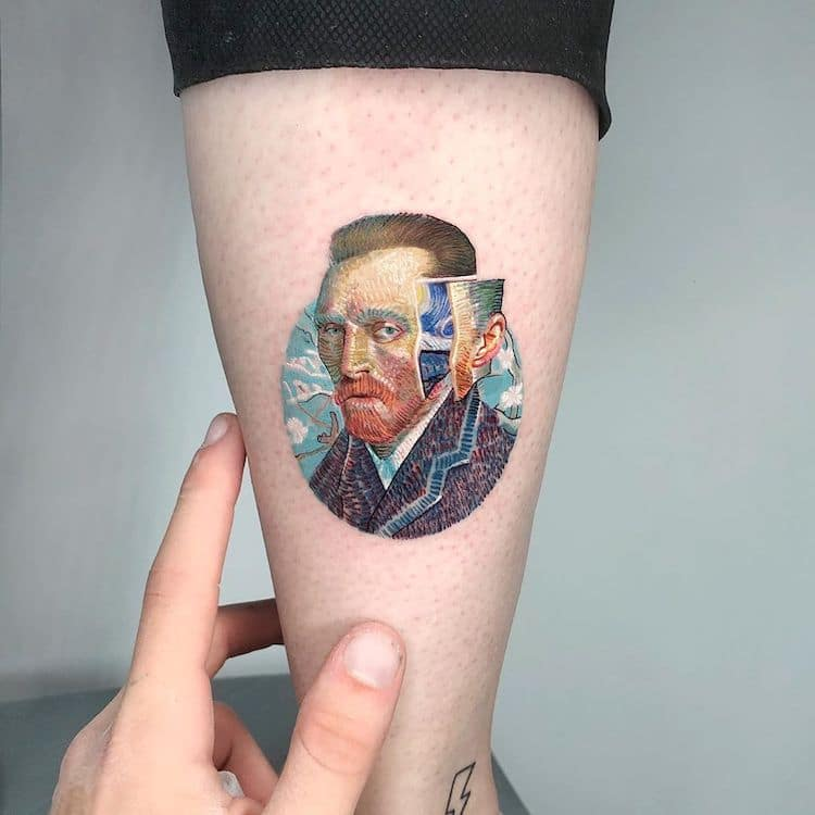 Van Gogh Tattoo