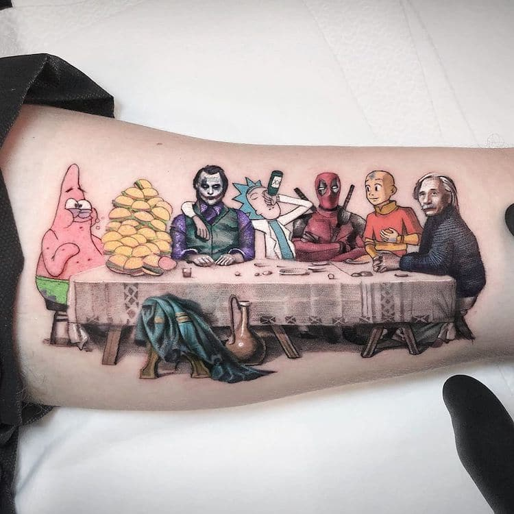 Pop Culture Tattoos