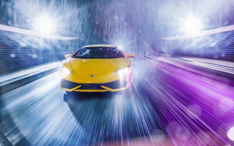 Lamborghini Scale Model Photo Shoot by Kunal Kelkar