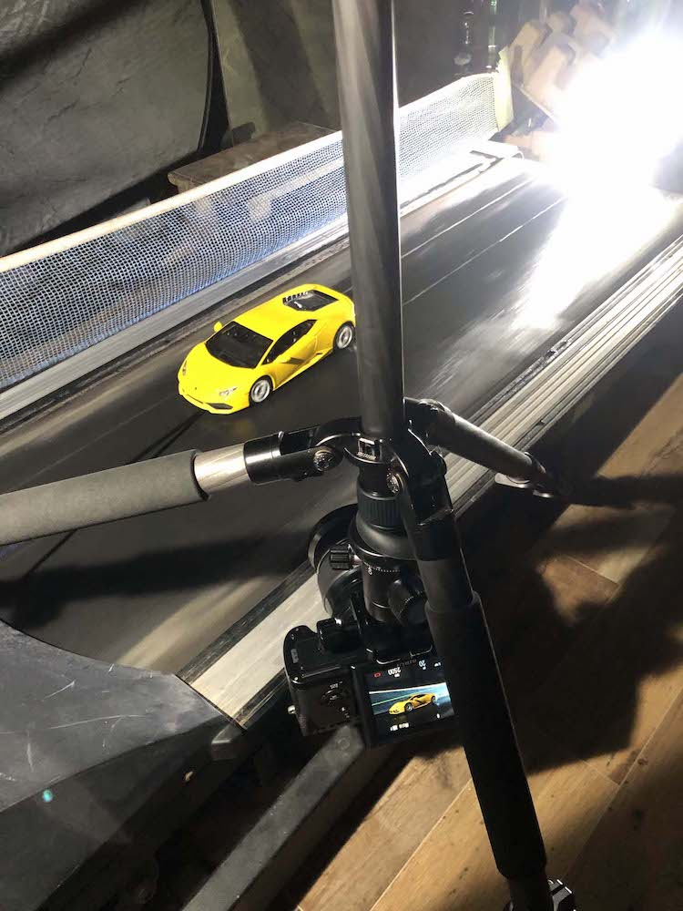 Behind the Scenes of Scale Model Auto Photo Shoot