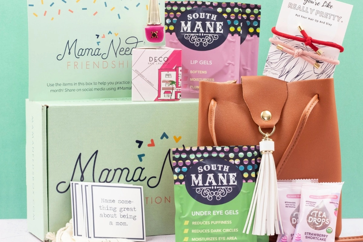 Subscription Box Filled with Items for Mom