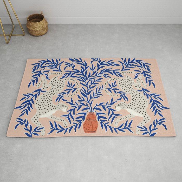 Leopard Vase Rug by Megan Galante