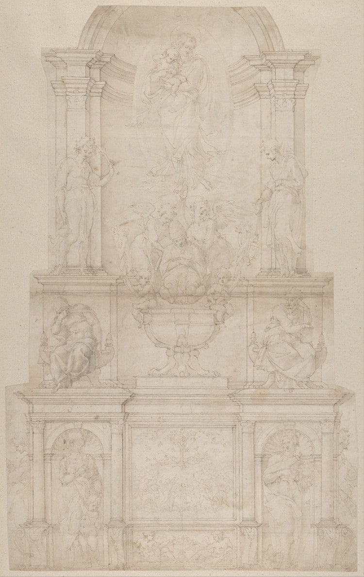 Design for the Tomb of Pope Julius II