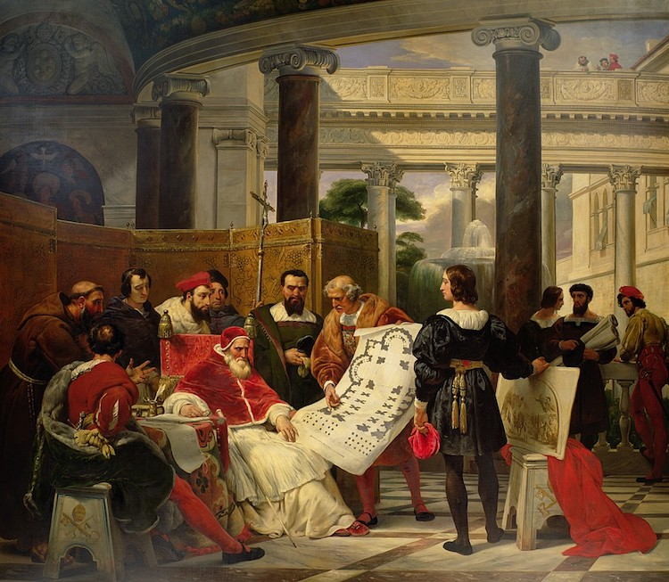 Julius II Painting