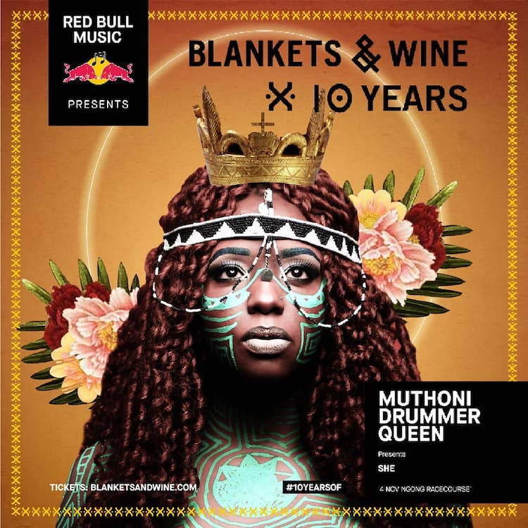 Kenyan Artist Muthoni Drummer Queen