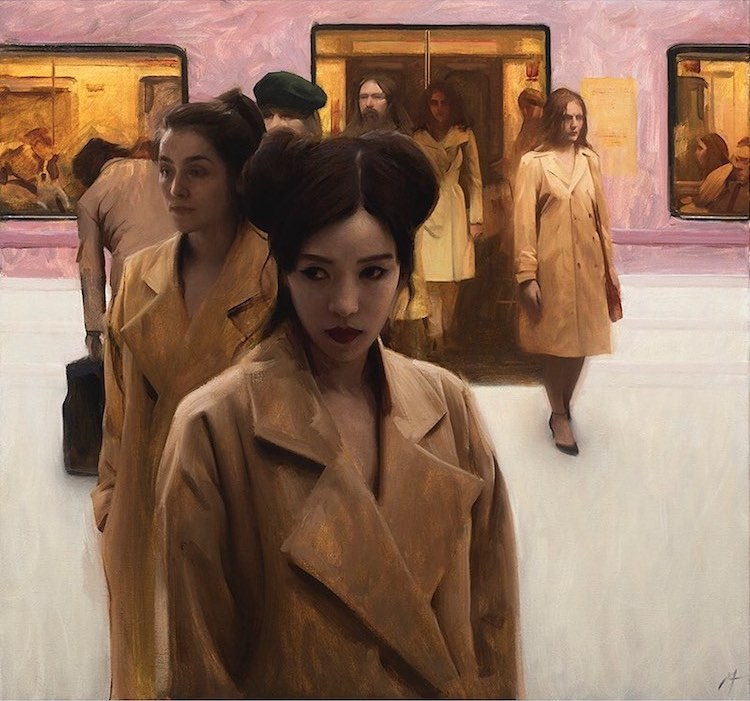 Figurative Paintings by Nick Alm