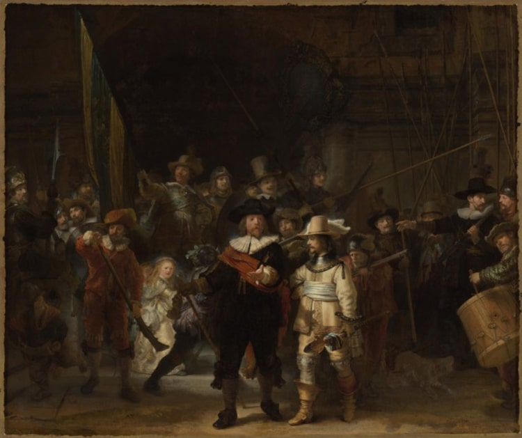 The Rijksmuseum's Photograph of Rembrandt van Rijn's The Night Watch